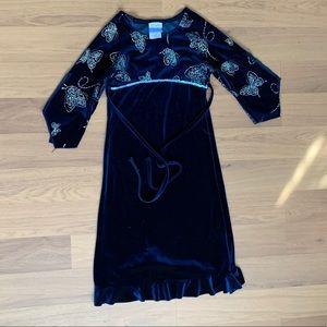 Size 7 Brooke Lindsay Velveteen Dress